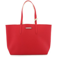 Sac shopping Lacoste Anna Seasonal réversible avec logo NF3256AS-F28 Rouge Sabler