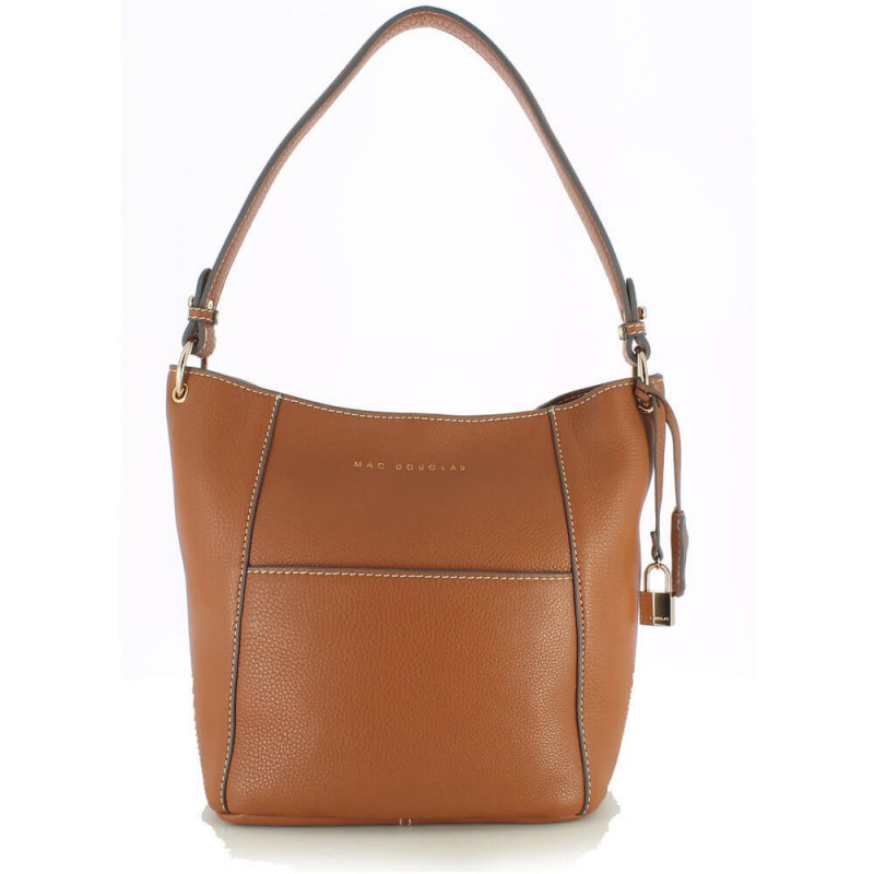 Sac hobo cuir grainé Mac Douglas Jewel Romy