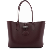 Petit sac shopping Longchamp Roseau L2685871E78 Brandy de face